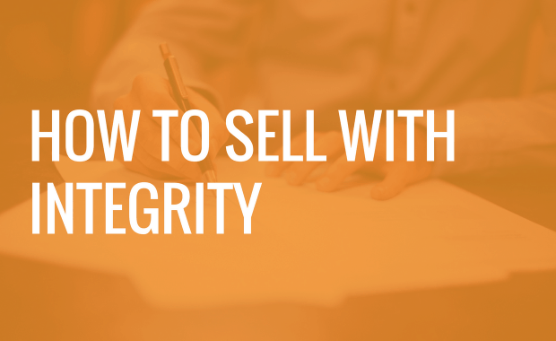 How to Sell With Integrity (A Look at our own Sales Methodology)