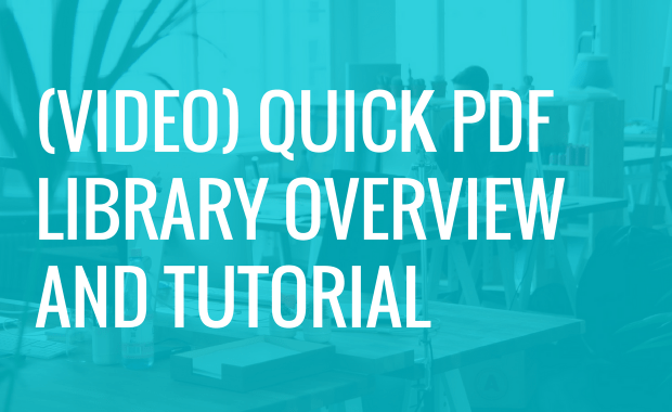 [VIDEO] Foxit Quick PDF Library Product Overview and Tutorial