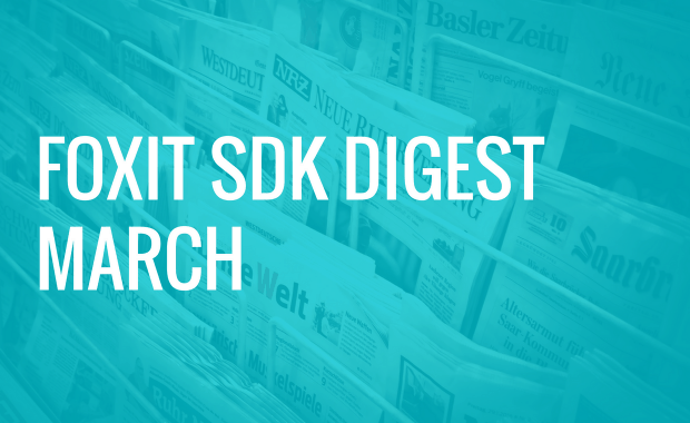 Foxit SDK Digest: MobilePDF SDK Tutorials, Women in Tech, and More!