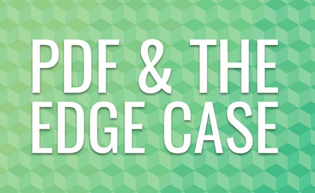 PDF and the Edge Case