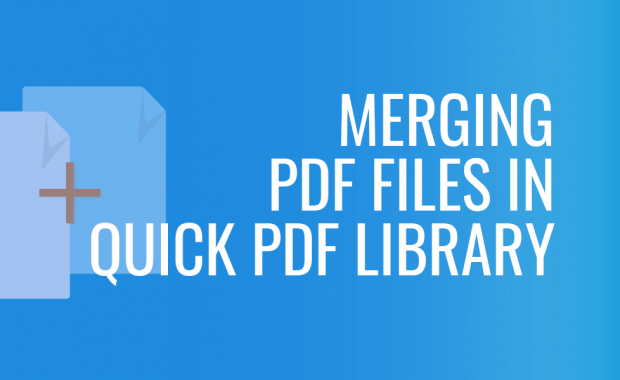 Merging PDF Files in Quick PDF Library