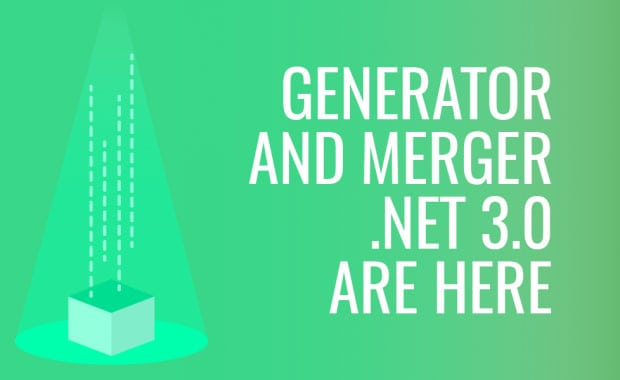 Generator and Merger .Net 3.0 Releases