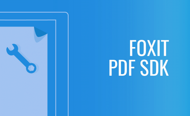 Foxit Announce Newest Generation in PDF SDK Technology
